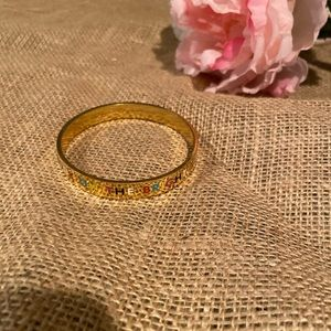 Kate spade look on the bright side bangle